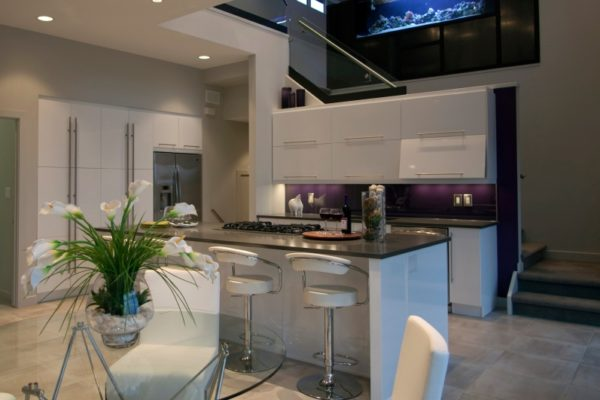 Purple-Backsplash