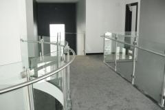 Curved Glass Rail 4