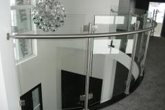 Curved Glass Rail 6