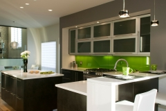 Green Backsplash 2