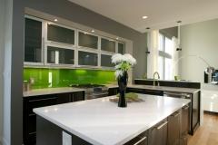 Green Backsplash