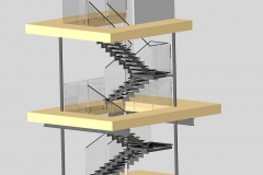 Royalwood Glass Staircase 2
